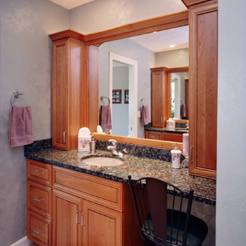 Custom Bathroom Cabinets and Cabinetry Project Gallery | M&R ...